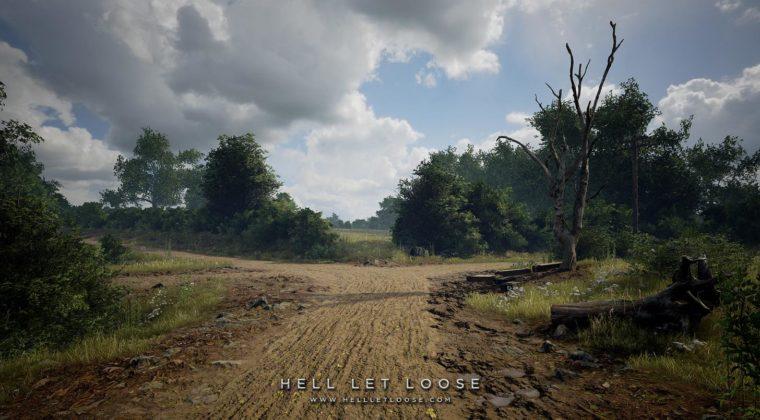 Uma divisa na estrada - Hell Let Loose