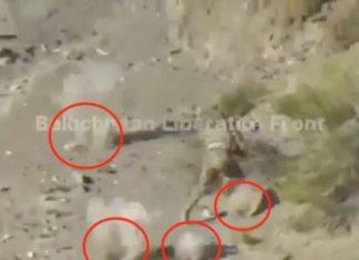 [VÍDEO] Emboscada brutal dos separatista do Paquistão