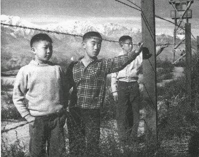 campos de internação dos EUA durante a Segunda Guerra Mundial