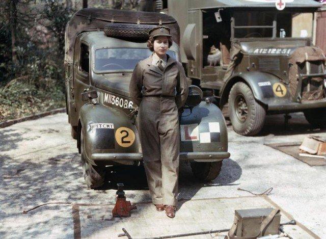 Rainha Elizabeth II na Segunda Guerra Mundial