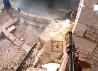 Jihadistas usam AK-47 com silenciador para atacar um posto avançado do Exército Sírio