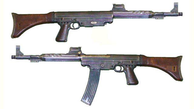 projeto do fuzil que iria utilizar o cartucho intermediário 7,92 Kurz desenvolvido pela Walther, entretanto foi rejeitado.