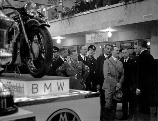 Hitler na BMW