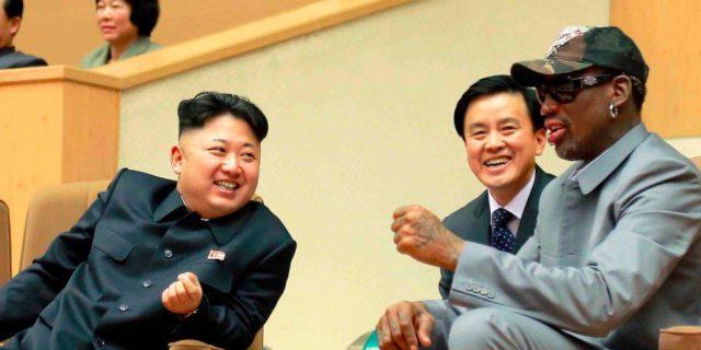 Dennis Rodman e Kim Jong-un