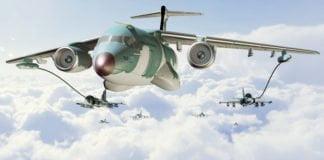 KC-390 e os Gripen-NG