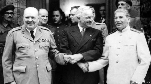 O plano começou dois anos depois da Conferência de Potsdam