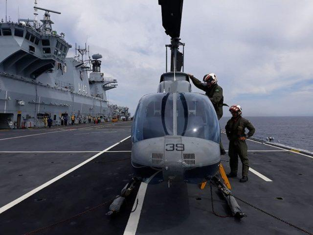 IH-6B Bell Jet Ranger II no PHM Atlântico