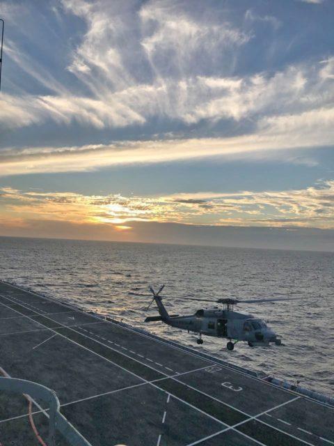 SH-16 no PHM Atlântico
