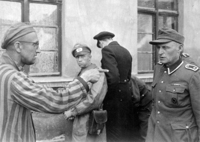 campo de concentração de Buchenwald.