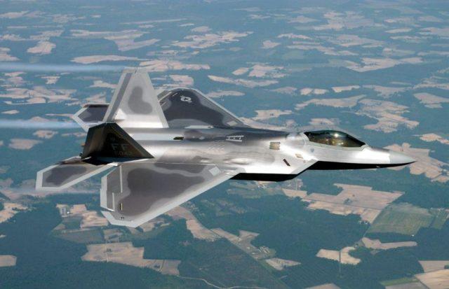 F22 Raptor - Aviões Militares - Poder Aéreo