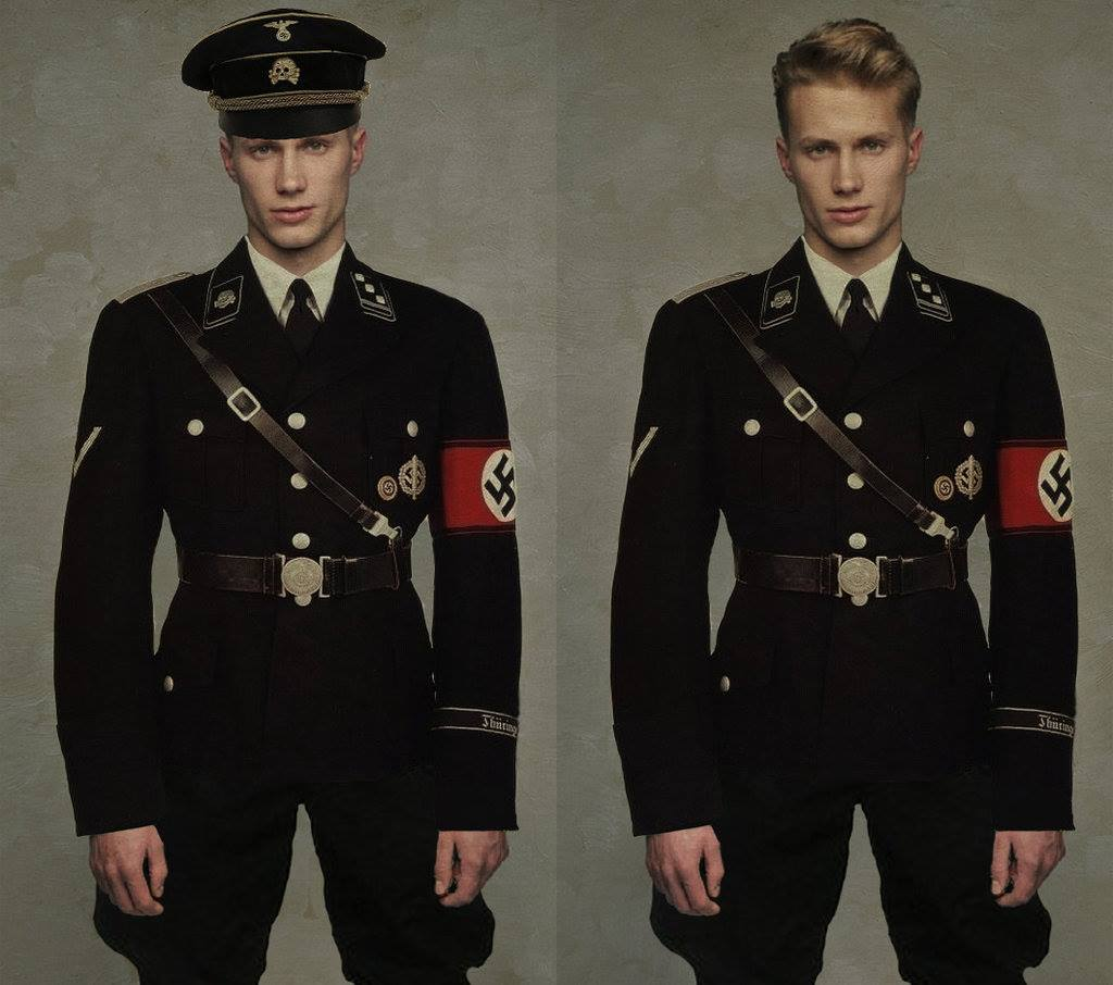 Hugo Boss uniforme nazista
