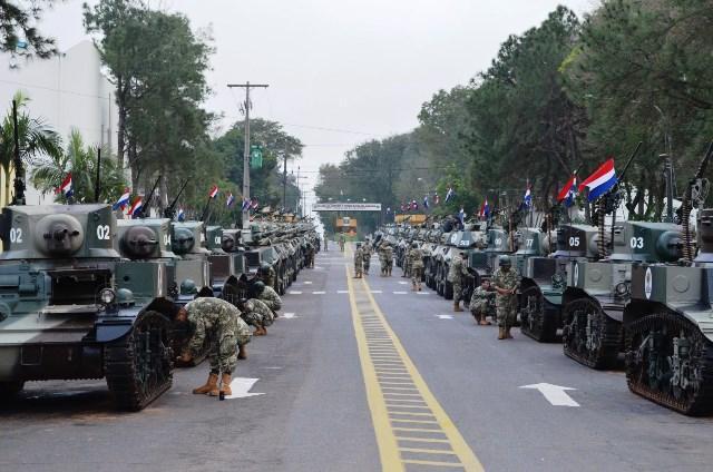 M3A1 Stuart Paraguai