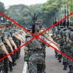 Existem países sem forças armadas?